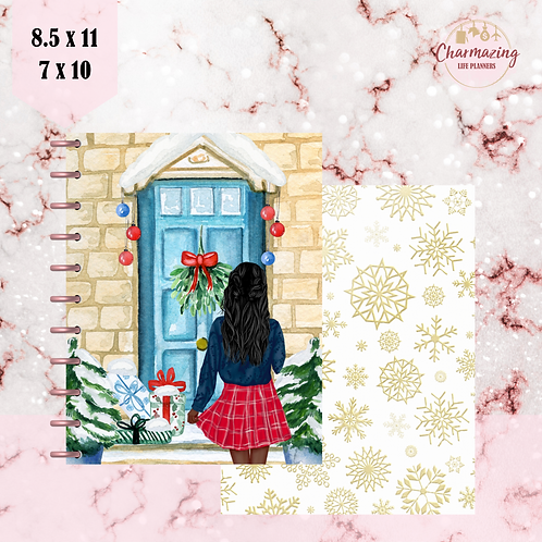 """""""Home For Christmas"""" Planner Cover Set"""