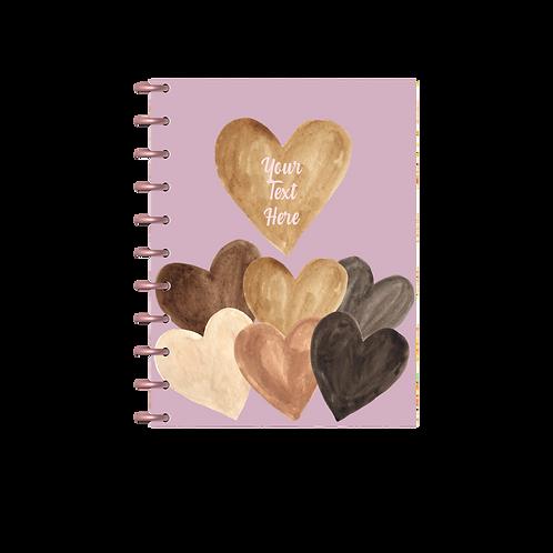 """Melanin Hearts"" Charmazing Planner"