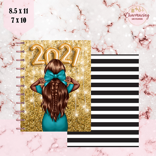 """""""Sparkling New Year"""" Planner Cover Set"""