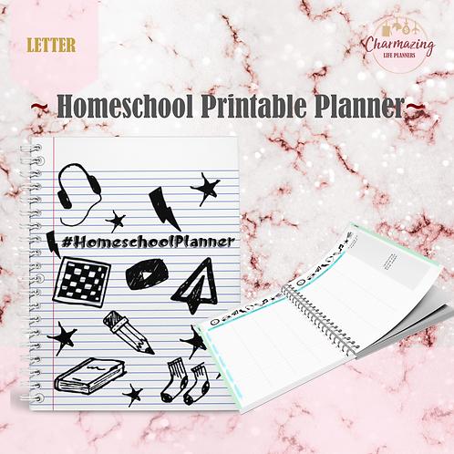 Homeschool Printable Planner