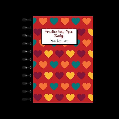 Bohemian Hearts Self-Care Journal