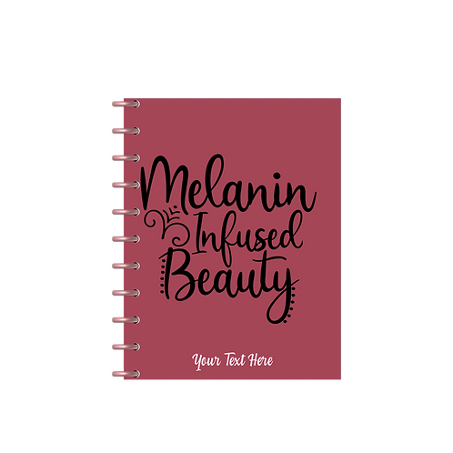"""Melanin Infused Beauty"" Charmazing Planner"