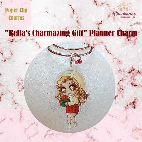 """Bella's Charmazing Gift"" Planner Charm"