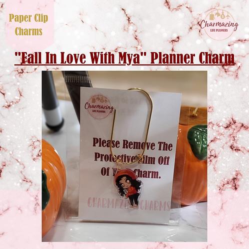 """Mya"" Planner Charm"