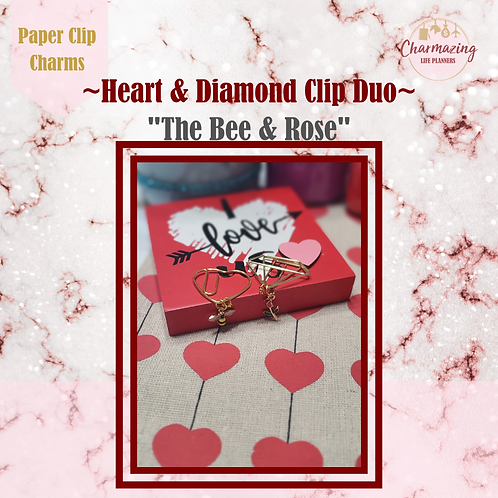 The Bee & Rose Clip Duo