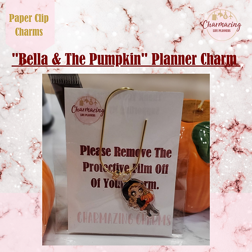 """Bella"" Planner Charm"