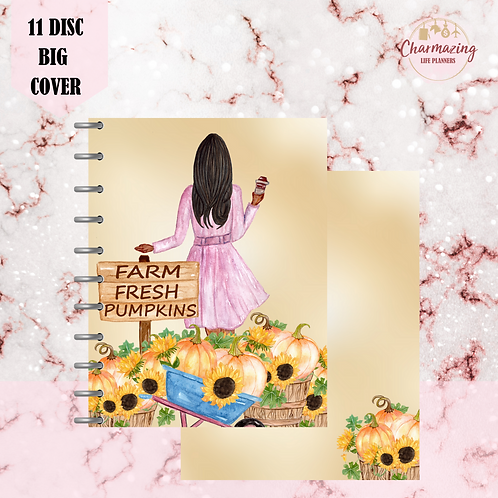Fresh Pumpkin Patch Planner Cover Set