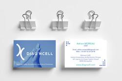 Carte de visite DIAG'N CELL by essens co