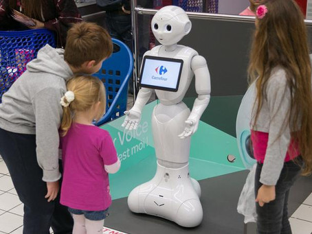 Robot en point de vente, gadget ou innovation commerciale ?
