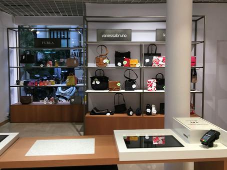 Une maroquinerie connectée pour les Galeries Lafayette cannoises