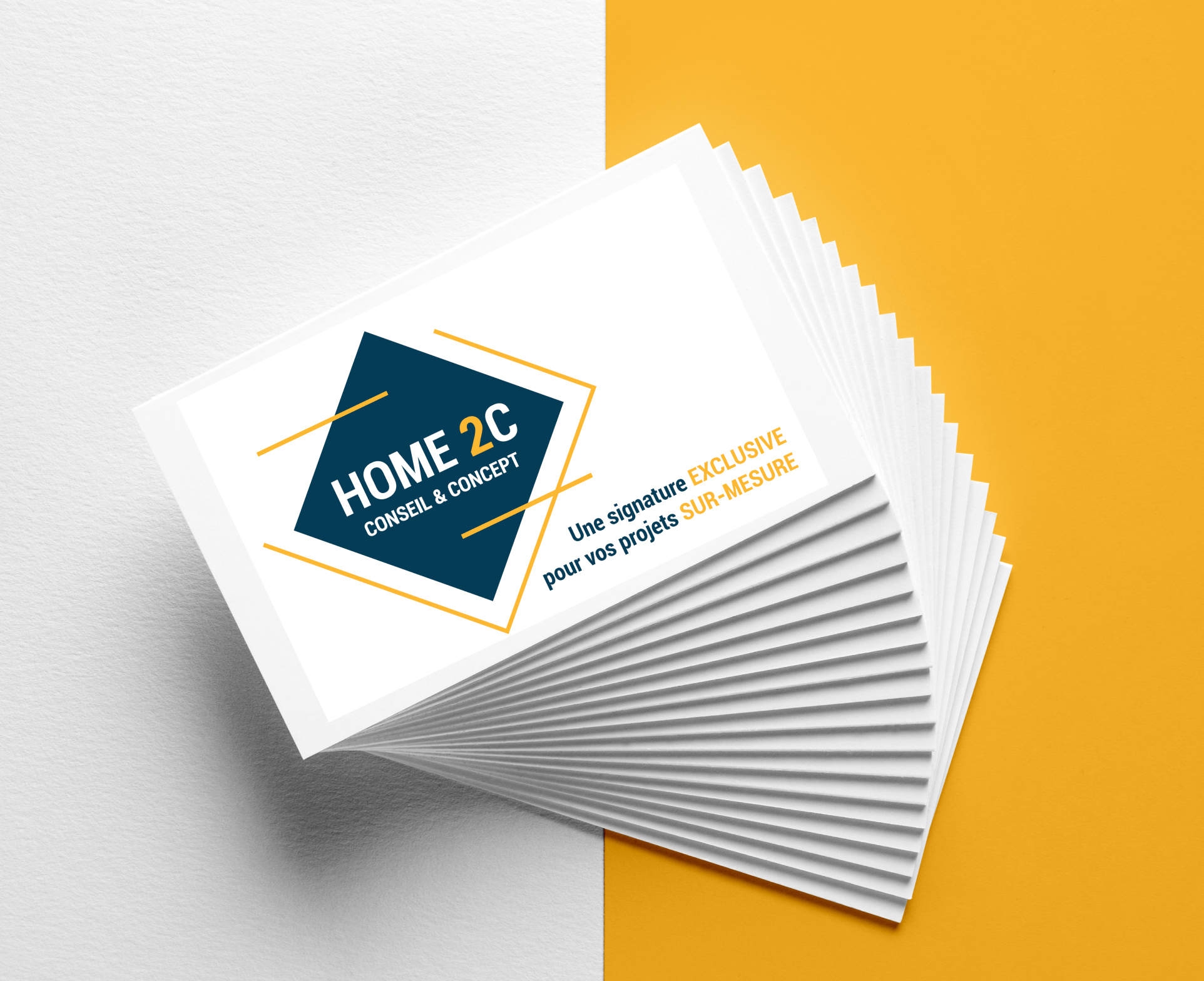 Carte de visite HOME2C by essens consult