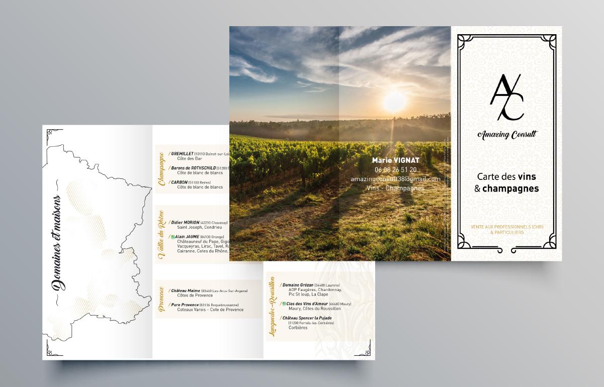 Carte des vins Amazing Consult