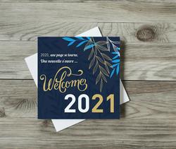 Carte de voeux 2021 INELYS