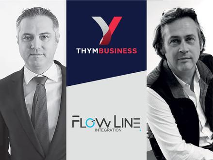 Une confiance mutuelle concrétisée entre Thym Business et Flow Line