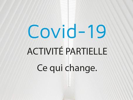 COVID-19 : Activité partielle, ce qui change jusqu'au 31 octobre