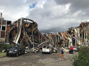 Incendie de pépinière - 50 d'entreprises - 10 000 m² - à VILLEURBANNE (69)