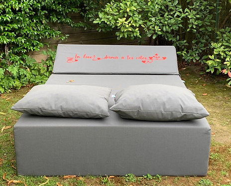 LOVE | Bed de Plage et Piscine | COZIP