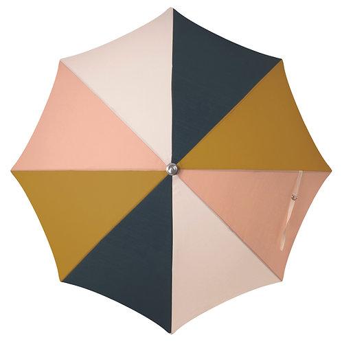 Parasol frangé multicouleurs