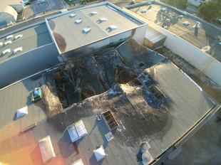 Incendie d'un bâtiment industriel à QUETIGNY (21)