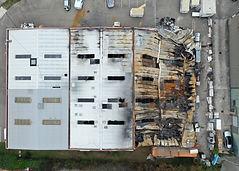 incendie bâtiment industriel 69 VAULX EN