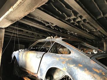 Incendie de sous-sol à SAINT MARTIN LA PLAINE (42)
