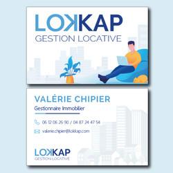 Creation Carte de visite LOKKAP _ Essens