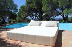 Bed de plage et de piscine COZIP