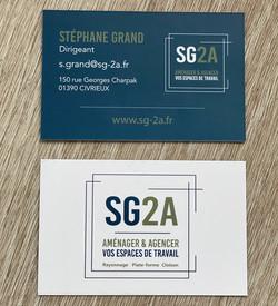 Cartes de visite SG2A