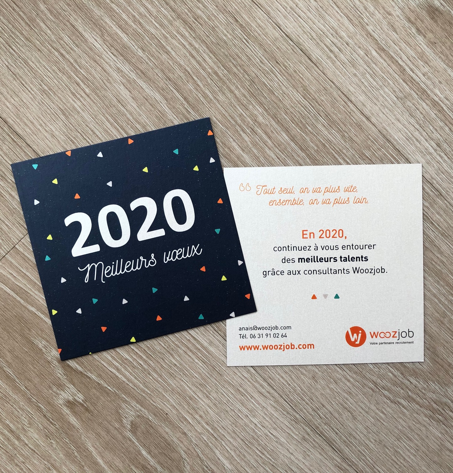 Vœux 2020 WOOZJOB