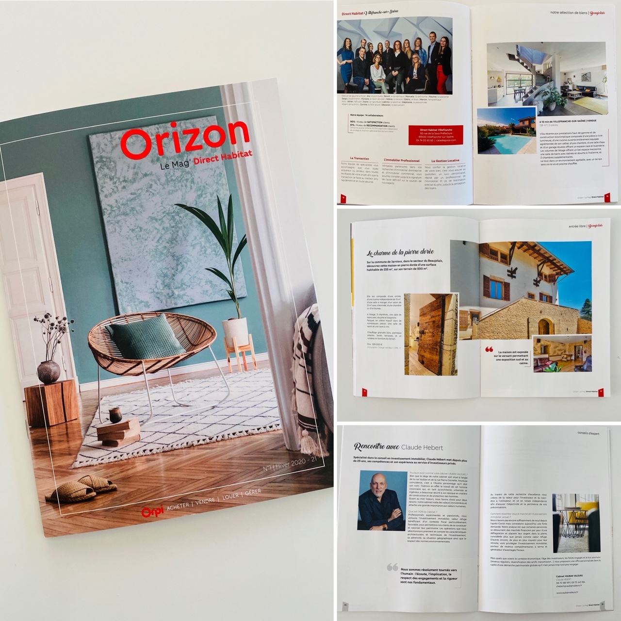 Magazine ORIZON pour ORPI