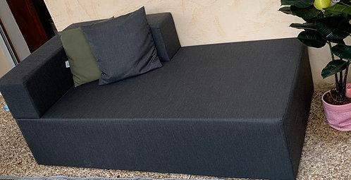 SERENA   Méridienne outdoor   160x80, assise 38, dossier 25 cm