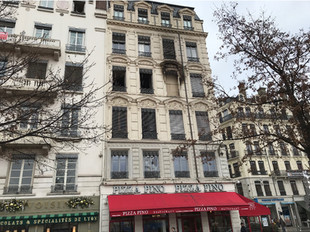 Incendie d'un immeuble classé à LYON (69)