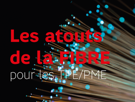Les atouts de la fibre pour les TPE/PME