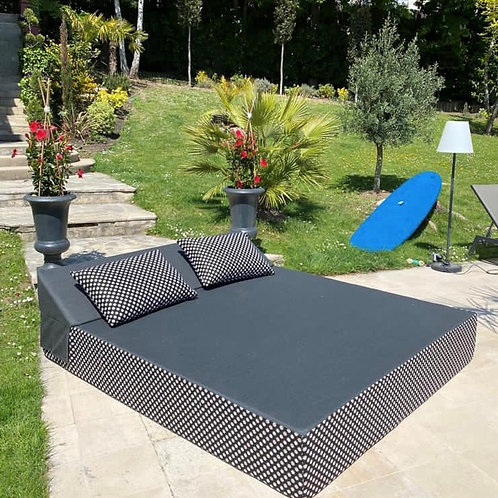 VALENTIN   Bed de Plage et Piscine   200x180xh30 cm