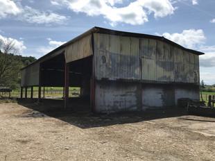 Incendie d'un hangar agricole à SAVAS MEPIN (38)