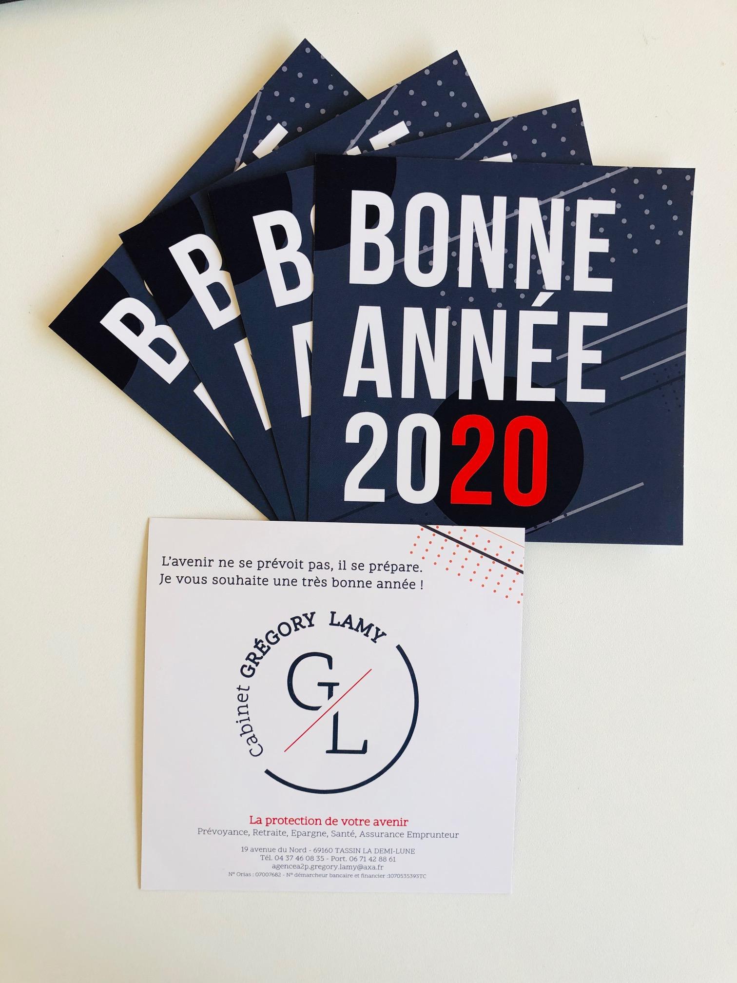 Vœux 2020 GRÉGORY LAMY