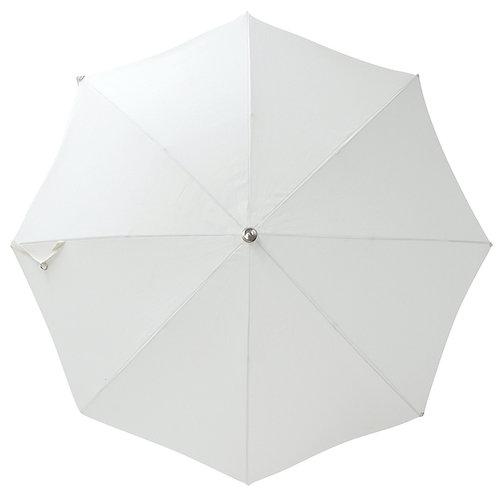 Parasol frangé Blanc