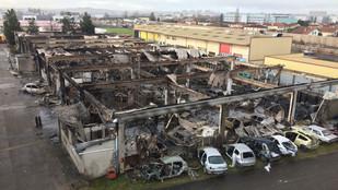 Incendie d'une école à VAULX EN VELIN (69)