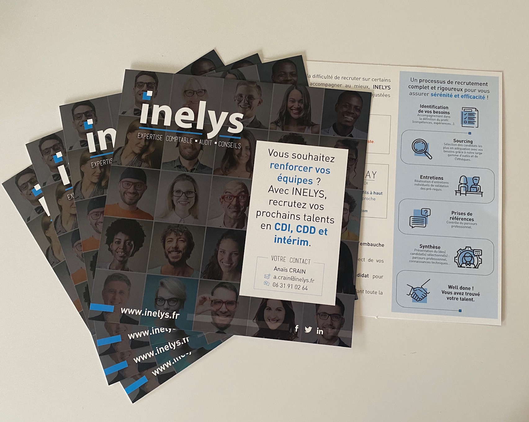 Flyer INELYS sur le recrutement by essen