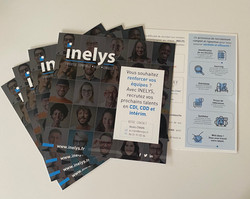 Flyer INELYS sur le recrutement by essen