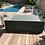 Thumbnail: DOUBLE BED NANTES  | Bed de Plage et Piscine | 200x180xh30 cm