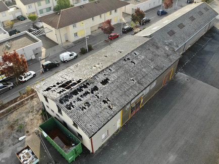 Batiment industriel - BOURG EN BRESSE (01)
