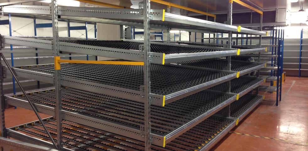 SG2A Rayonnage industrie