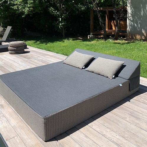 MAMOO | Bed de Plage et Piscine | 200x180xh30 cm
