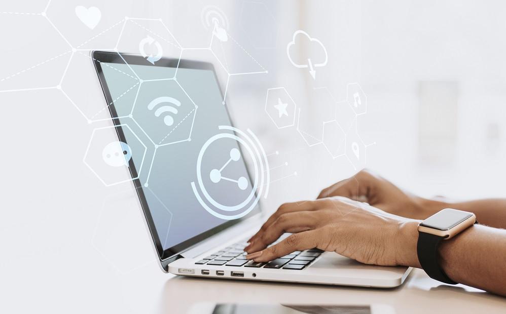 ordinateur - wifi - wifi connecté - connexion sans fil