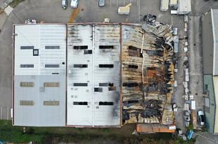 Incendie de bâtiment industriel à VAULX EN VELIN (69)