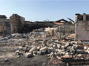 Incendie d'un club de sport à BEYNOST (01)