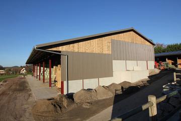 Bâtiment de stockage - Exploitation agricole - GROISY (74)