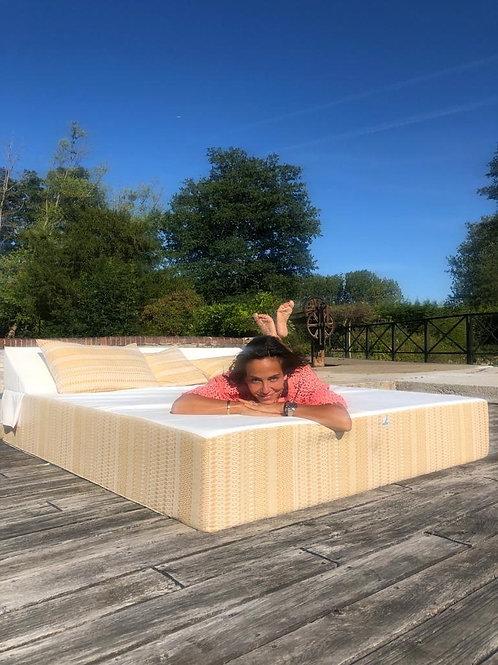 SANDRA | Bed de Plage et Piscine |  200x180xh30 cm
