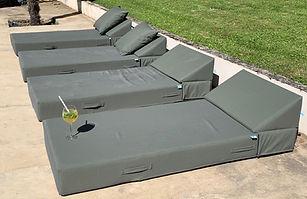 Bed exterieur kaki de COZIP